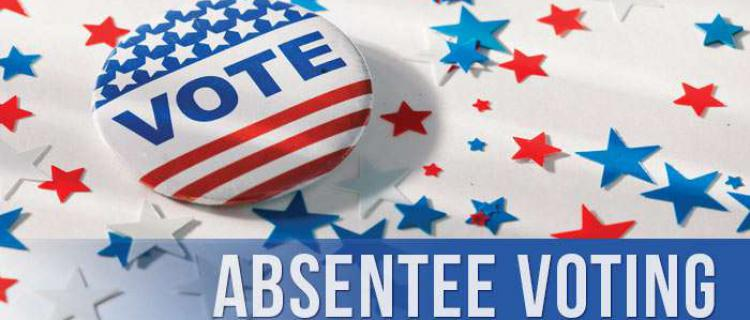 Absentee Voting for Special Election-Alderman at Large