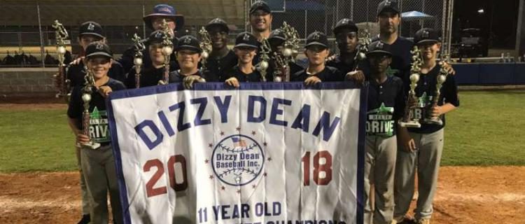 Dizzy Dean 11 yr old State Champs